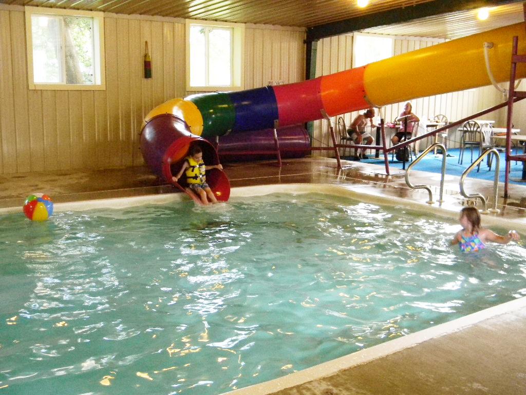 Pool With Waterslide